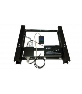 GSM elektromos táv kaptármárleg GPS funkcióval + TFT kijelző