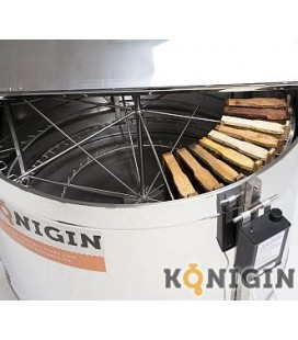 Sugaras pergető-890mm-elektromos 12V vagy 230V-36 darab 1/2 Dadant kerethez +18 darab 1/1 Dadant kerethez -KONIGIN