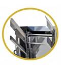 Fedelező gép állítható késekkel és elktromos melegítéssel