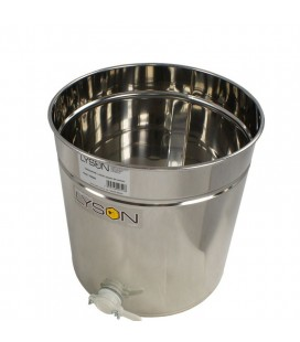 Mézletöltő tartály müanyag csappal 30L -Lyson