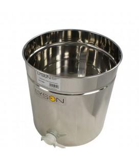 Mézletöltő tartály müanyag csappal 30L