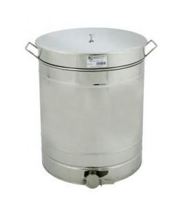 Maturator de miere cu canea inox+ maner din inox 200L -Lyson