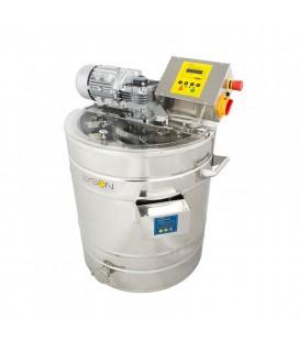 Instalatie pentru decristalizare si transformarea mierii in crema, 200 L (230 V) full automata, PREMIUM