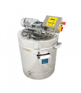 Instalatie pt transformat miere in crema, cu incalzire, 150l (220v) - PREMIUM