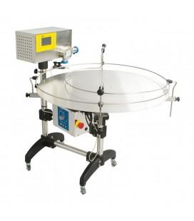 Mézcsomagológép automata forgóasztallal-Lyson PREMIUM