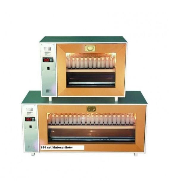 Méhanyanevelő inkubátor - 100 zárkás