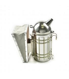 Afumator inox cu tub 23cm -cap rotund
