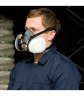 Semimasca de protectie- tip 2 filtre schimbabile pentru gaze si particule de praf - JSP ® - FORCE8