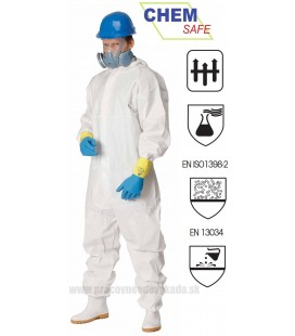 Combinezon antichimic, antiacid si antistatic - CHEMSAFE 500