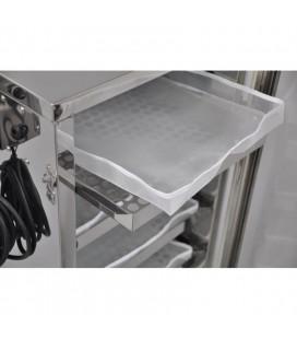 Inox virágporszárító -10 tálcás-50kg
