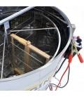 Önfordítós mézpergető (4 Keretes), Motormeghajtás 12v vagy 220v, Keretmagasság 32-37 cm