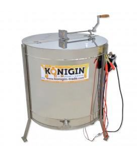 4 Keretes -önfordítós mézpergető , Kézi meghajtás + elektromos 220v - KONIGIN