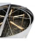 Önfordítós mézpergető (6 Keretes), Motormeghajtás 12v vagy 220v, Keretmagasság 32-37 cm