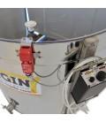Centrifuga radiala cu diametrul 640mm- cu actionare manuala+ motor 12V sau 230V-pentru 20 rame 1/2 Dadant -KONIGIN