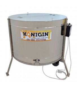 Sugaras pergető-960mm-elektromos 12V vagy 230V-42 darab 1/2 dadant kerethez +18 darab 1/1 Dadant kerethez -KONIGIN