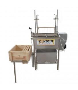 Masina de descapacit cu cutite vibratoare semiautomata -12V sau 230V-KONIGIN