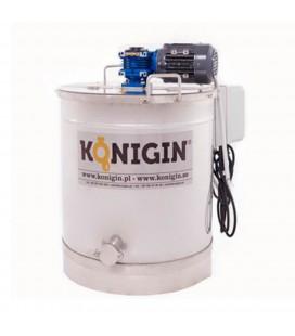 Krémméz keszítő tartály- 150L-230V/750W-KÖNIGIN