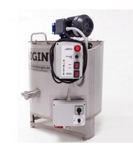 Krémméz keszítő tartály- 200L-fűtött -230V/2250W-KÖNIGIN