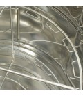 12 keretes 1/2 Dadant sugaras mézpergetö, 500mm -MINIMA Lyson
