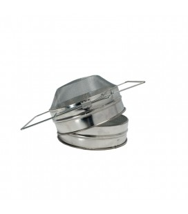 Strecurător dublă zincată 20,5 cm-bombat -Lyson