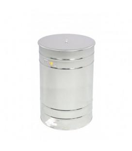 Mézletöltő tartály müanyag csappal 300L -Lyson