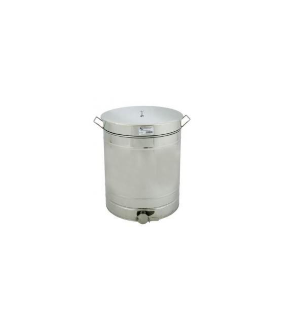 Mézletöltő tartály inox csappal+ inox füllel 150L-Lyson