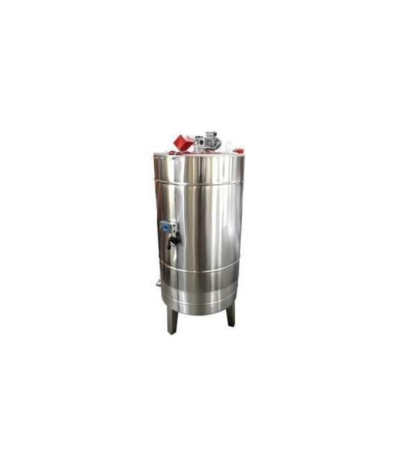 Méztároló tartály 1000kg-os keverő (egységesítő) motorral