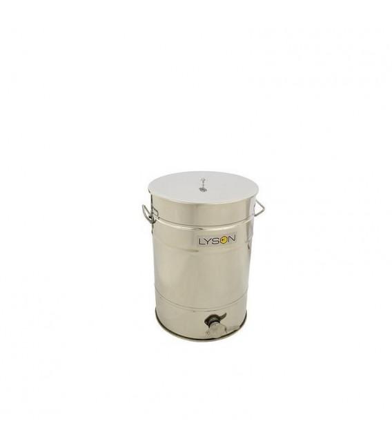30 Literes Inox letöltőtartály- kónuszos fenékkel -PREMIUM LINE -Lyson