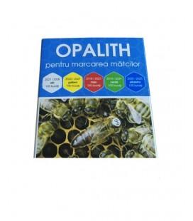 Anyajelölő szett-számozott opalith korongokkal