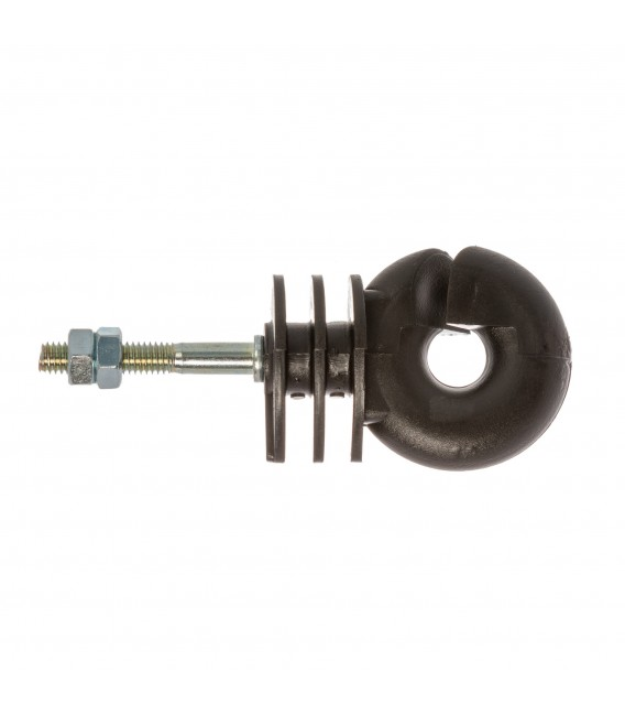 Izolator inelar cu picior metric M6