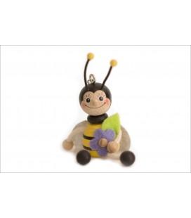 Breloc albinuță-fetiță