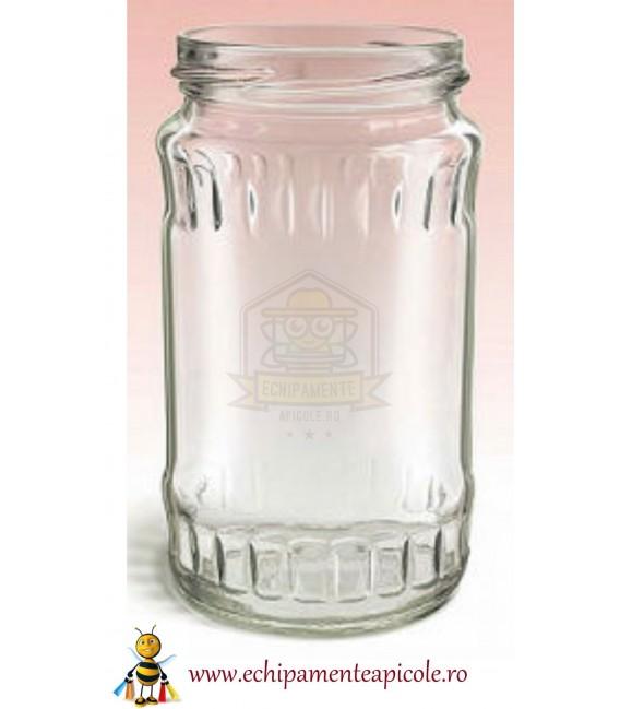 Mézes üveg-370cl-födővel