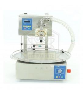 Mézkicsomagoló gép mini forgóasztallal -Lyson