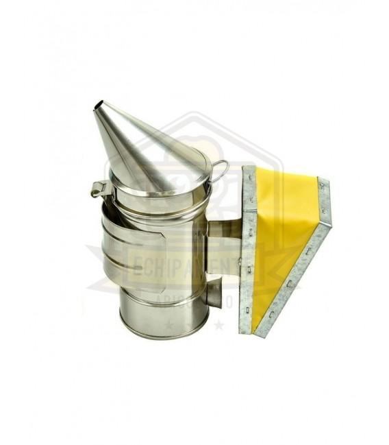 Afumător inox-burduf piele naturala-Lyson