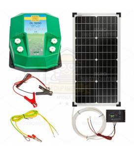 Vilanypásztor DL 3200, 3,2 Joule, 30 W napelem rendszerrel