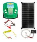 Vilanypásztor generátor DL7200 12V + 30W napelem