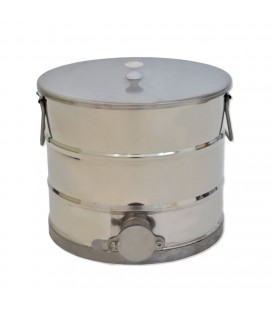 Maturator de miere 25 litri cu canea inox +manere-KÖNIGIN