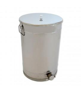100 literes mézletöltő tartály inox csappal és fogantyuval -KÖNIGIN