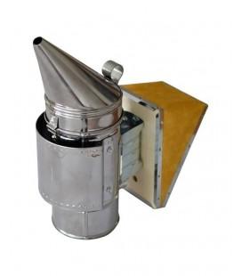 Inox füstölő-kivehető horganyzott betéttel