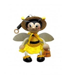 Albinuță cu arc -fetita