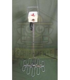 Mézmelegítő spirál termosztáttal 1000W-37cm