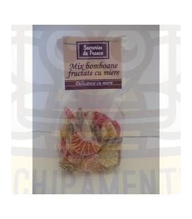 Vegyesgyümölcs -mézes cukorka 100gr