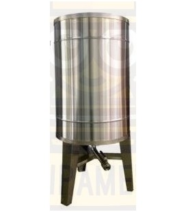 Bazin pentru miere 1000kg cu capac si picioare