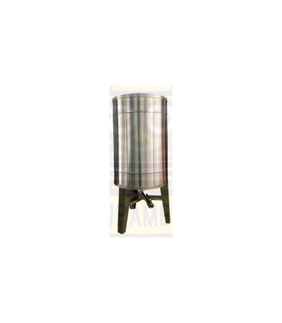 Bazin pentru miere 2000kg cu capac si picioare
