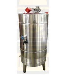 Bazin pentru miere 500kg cu capac si omogenizator