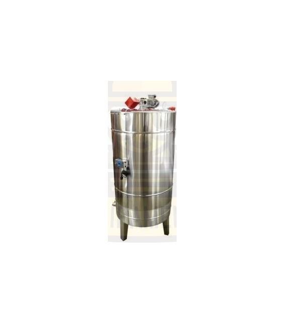 Méztároló tartály 2000kg- mézkeverő motorral/ füttéssel