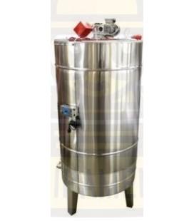 Méztároló tartály 2000kg- mézkeverő motorral- Lyson
