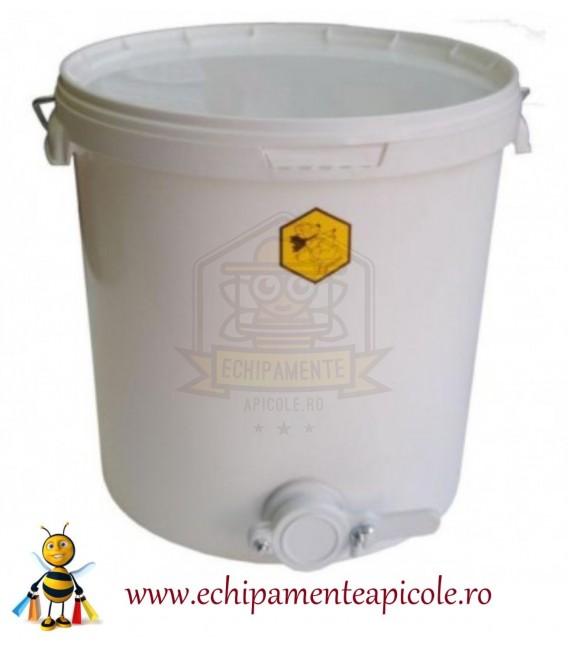 Găleată polipropilen cu canea plastic 32L -45kg